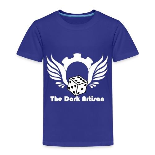 Artisan white logo - Kids' Premium T-Shirt