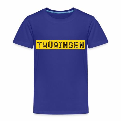 Thüringen Schrift - Kinder Premium T-Shirt