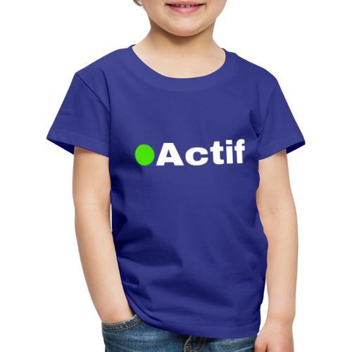 actif messenger - T-shirt Premium Enfant