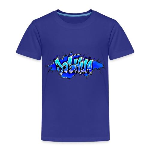 GRAFFITI JOSHUA WALL BROKEN BLUE - T-shirt Premium Enfant