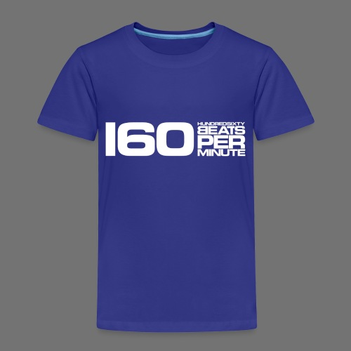 160 BPM (white long) - Kids' Premium T-Shirt