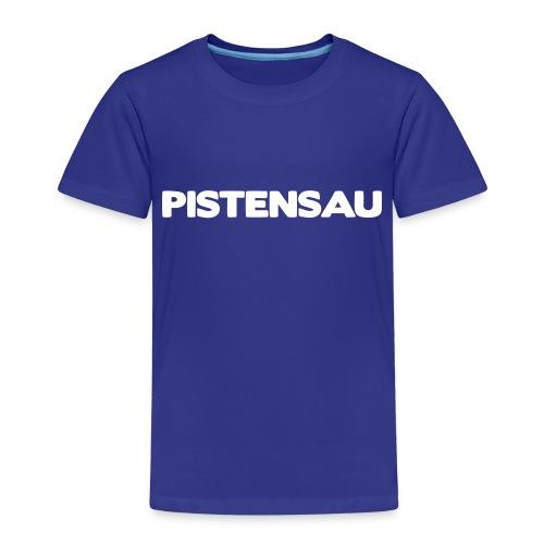Ski Shirt Pistensau - Kinder Premium T-Shirt