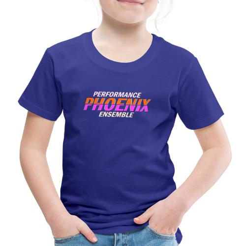 Phoenix Distorted Pink - Kinder Premium T-Shirt