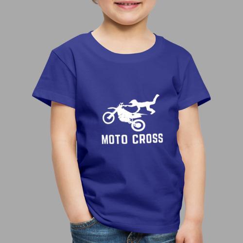 MOTO CROSS - T-shirt Premium Enfant