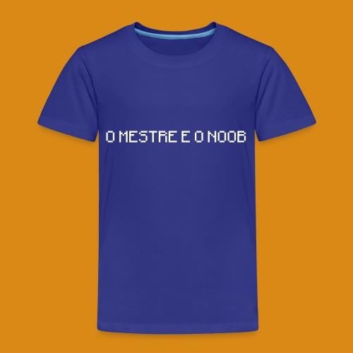 NUNSA!: O Mestre e o Noob - Kids' Premium T-Shirt