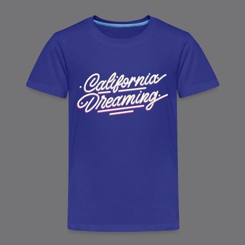 CALIFORNIA DREAMING Vintage Tee Shirt - Kids' Premium T-Shirt