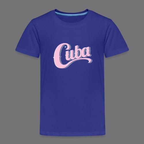 CUBA VINTAGE Tee Shirt - Kids' Premium T-Shirt