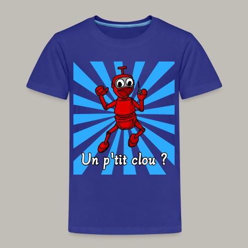 Back to 80's blue - T-shirt Premium Enfant