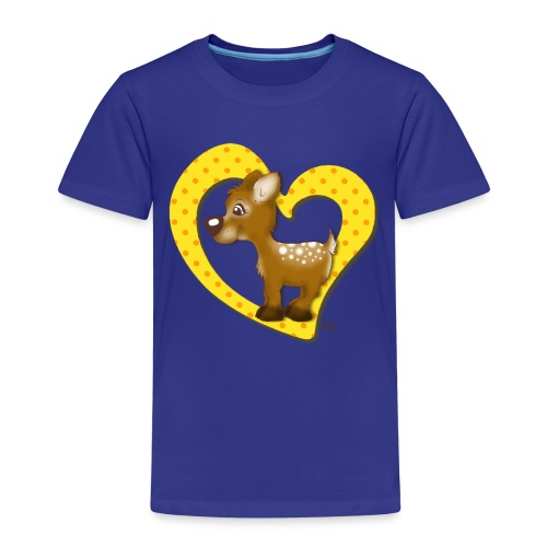 Kira Kitzi Zitronella - Kinder Premium T-Shirt
