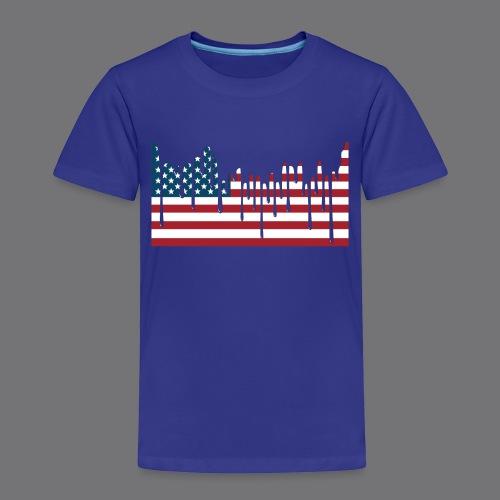 USA FLAG Tee Shirts - Kids' Premium T-Shirt