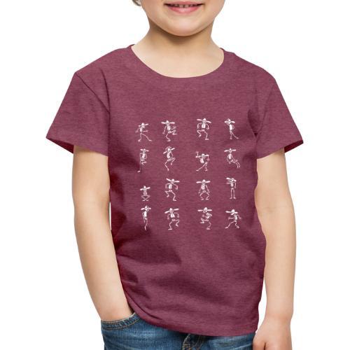 Skeleton Dance - Kinder Premium T-Shirt