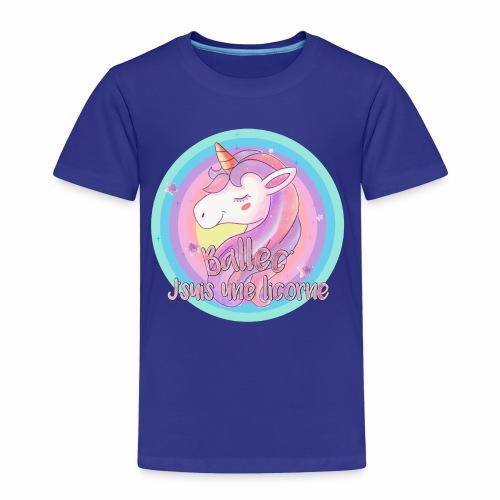 Ballec' J'suis une licorne - T-shirt Premium Enfant