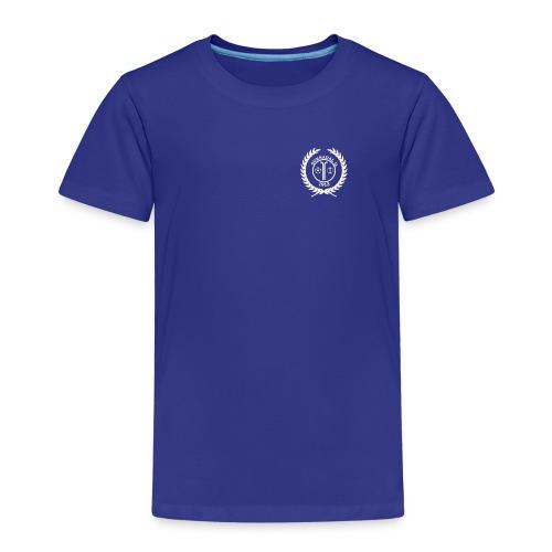 SIL_logo_hvit - Premium T-skjorte for barn