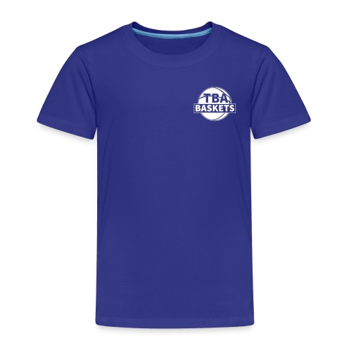 LOGO White - Kinder Premium T-Shirt