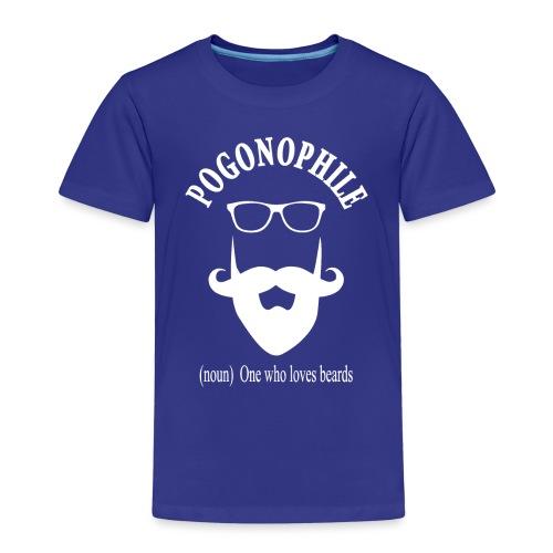 Pogonophile - Kids' Premium T-Shirt
