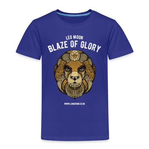 Leo Moon Dark - Kids' Premium T-Shirt