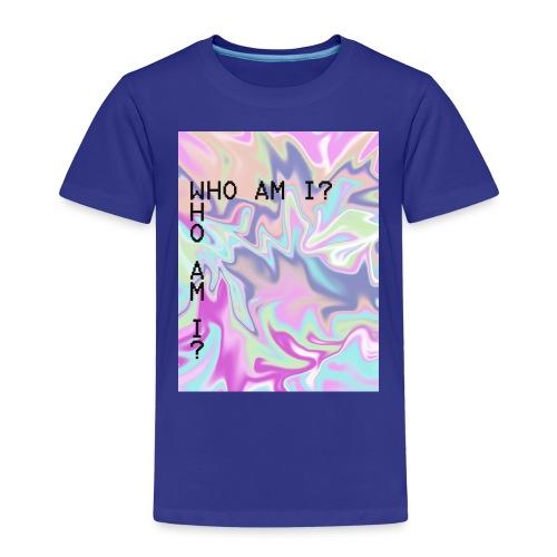 Psychedelic Mug - Who Am I? - Kids' Premium T-Shirt