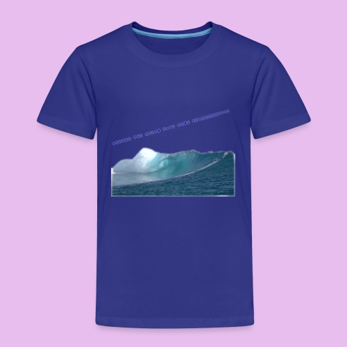 AHHH THE OCEAN HAVE GONE CRAZZZZZY! - Premium-T-shirt barn
