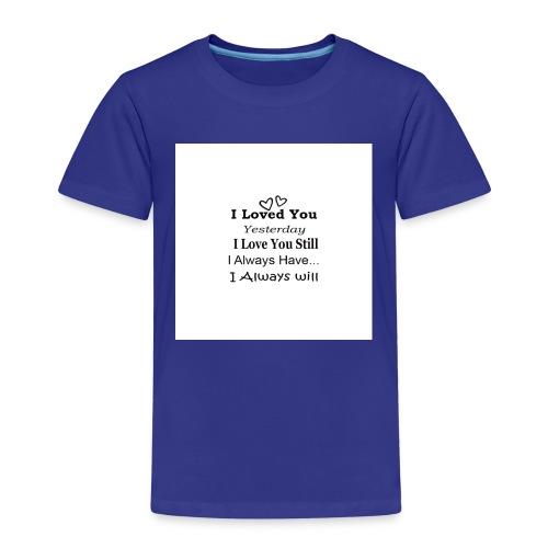 CITAT LOVE - Børne premium T-shirt