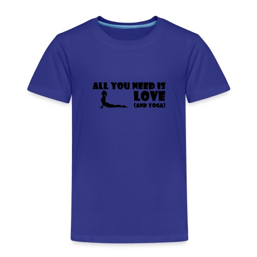 All you need is Love (and Yoga) - Kinder Premium T-Shirt