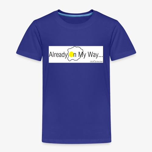 Already On My Way... - Kinderen Premium T-shirt