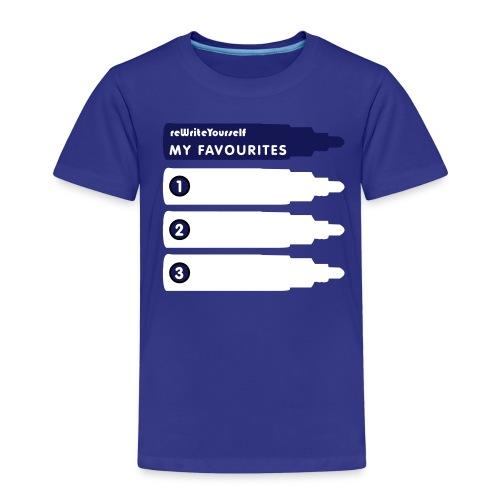 favouritesnew convertito - Maglietta Premium per bambini