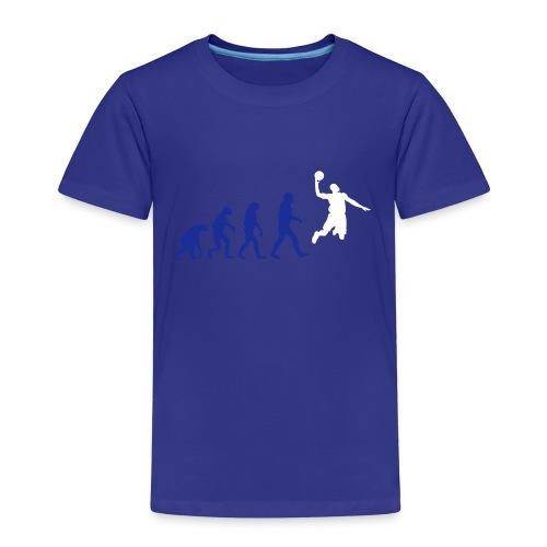 Basketball evolution logo - T-shirt Premium Enfant