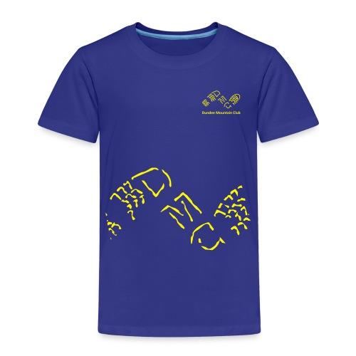 Logo big rough crop - Kids' Premium T-Shirt