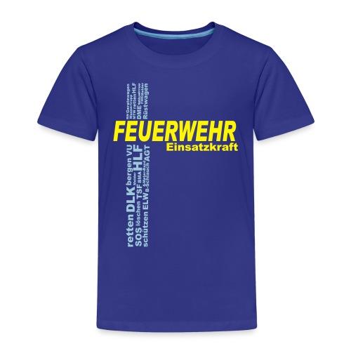 Feuerwehr Einsatzkraft - Kinder Premium T-Shirt