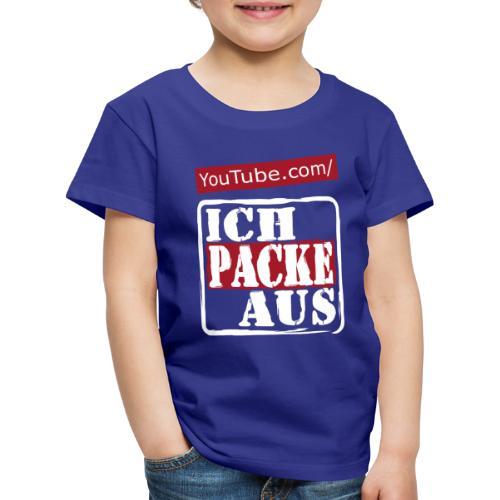IchPackeAus Logo Weiss - Kinder Premium T-Shirt