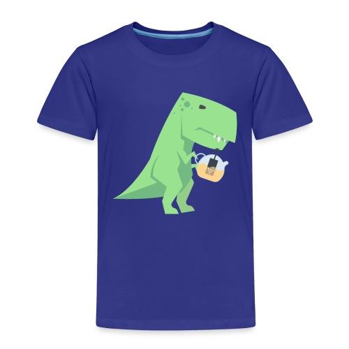 Tea-Saurus - Kinder Premium T-Shirt