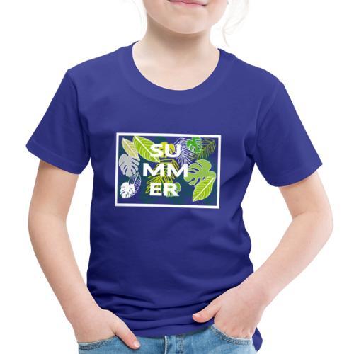 Summer - Sommer - Kinder Premium T-Shirt