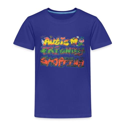 Autism Friendly Shopping Graffiti Style - Kids' Premium T-Shirt