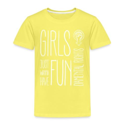 Girls just wanna have fundamental rights - Kinder Premium T-Shirt