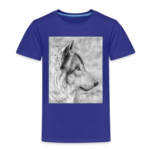 AAAAdibujo_plastica_lobo_jana-jpg - Camiseta premium niño