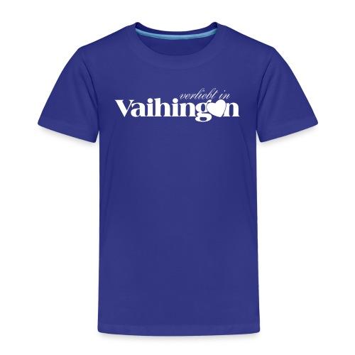 Verliebt in Vaihingen negativ - Kinder Premium T-Shirt