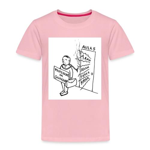 prof da guardia - Maglietta Premium per bambini