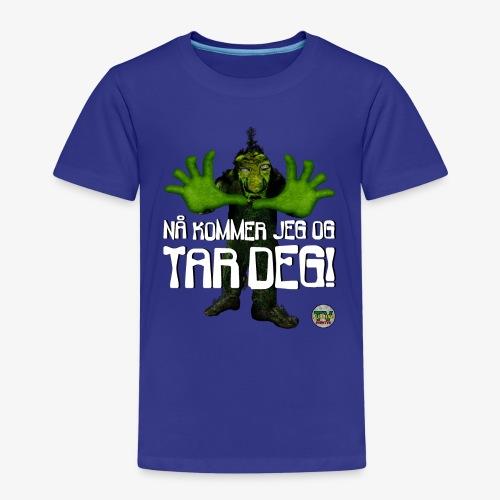 Troll - Premium T-skjorte for barn