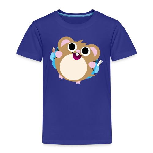 Ich bin 1. Klasse Hamster - Kinder Premium T-Shirt