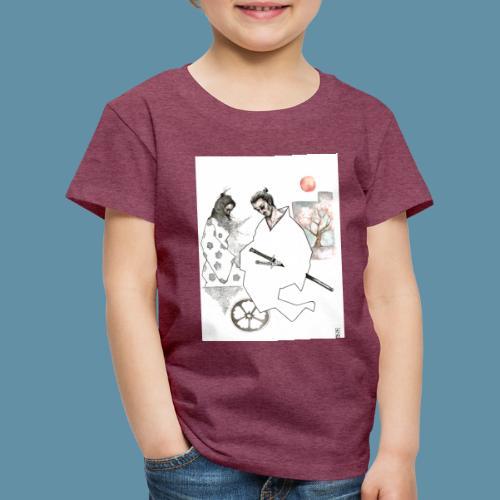 Samurai copia jpg - Maglietta Premium per bambini