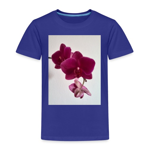 Orchideen lila - Kinder Premium T-Shirt
