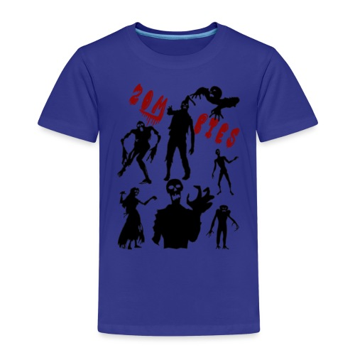 Zombies - Lasten premium t-paita