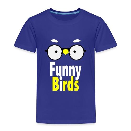 Funny Birds - Lasten premium t-paita