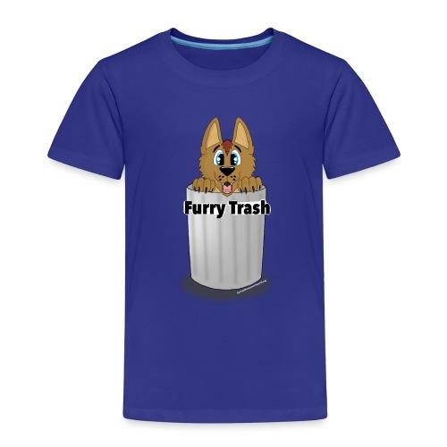 Furry Trash - Børne premium T-shirt