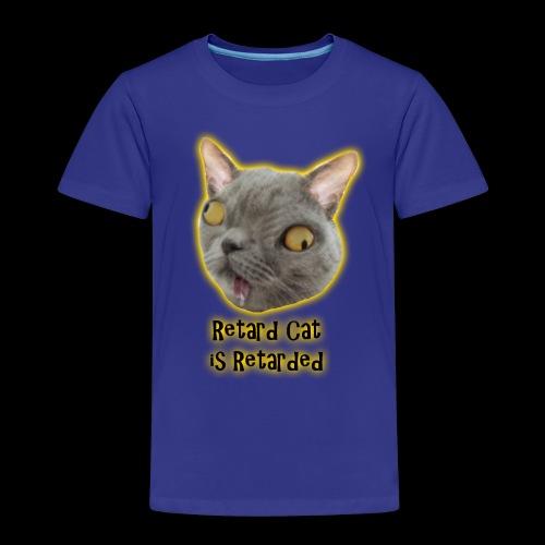 Retarded Cat - Premium-T-shirt barn