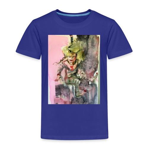 IMG 0764 Happy - Premium-T-shirt barn