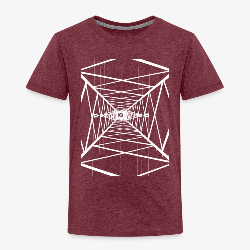 Hochmast V2 Weiß - Kinder Premium T-Shirt
