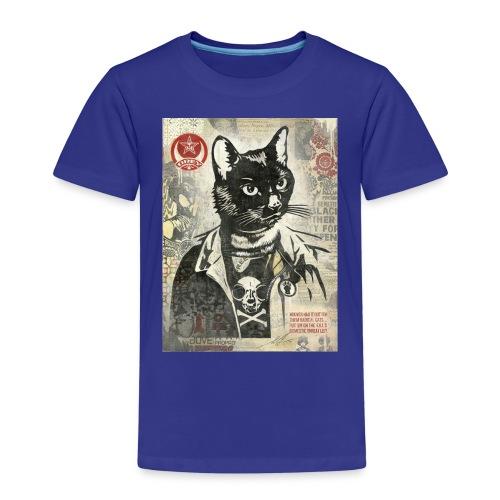 Cat Graffity - Kinder Premium T-Shirt