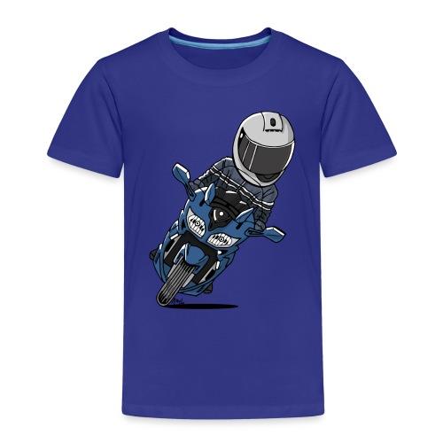 0790 FJR PhantomBlue - Kinderen Premium T-shirt