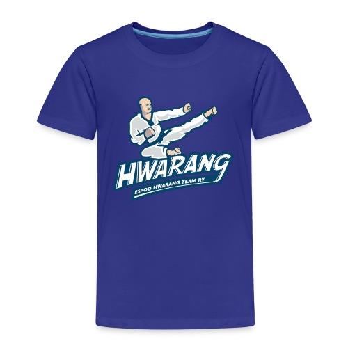 Hwarang logo v2 - Lasten premium t-paita